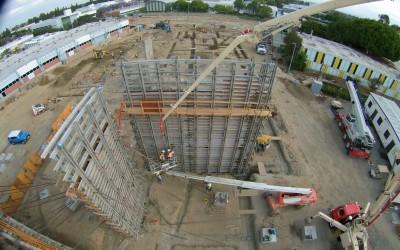Rocky Coast Builders – Cerritos College – Wall Pour