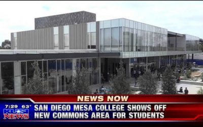 Rocky Coast Builders Completes Mesa College New Commons Building!